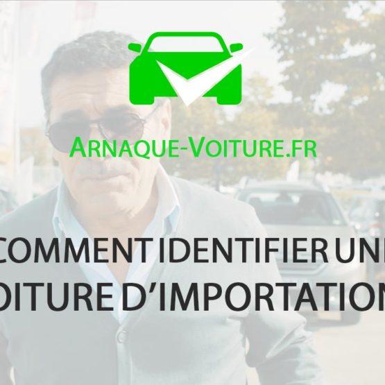 Comment identifier une voiture d'importation ? - Comportement humain