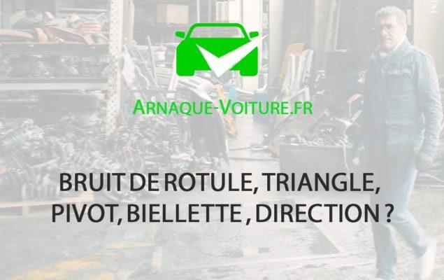 Bruit de rotule, triangle, pivot, biellette , direction ? - Auto